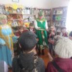 «Развесёлая Масленица» в Погрузнинской библиотеке.