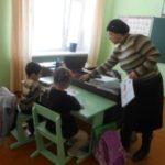 Библиотечный урок «Учись быть читателем» в Н-Кармалинской библиотеке.
