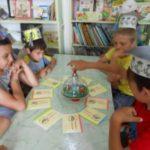 Школьный лагерь в гостях у Староюреевской библиотеки.