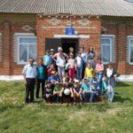 Летний лагерь в гостях у Староюреевской библиотеки и клуба.