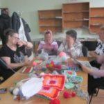 Всемирный день вязания на публике в Кошкинской районной библиотеке!