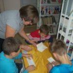 День белых журавлей в Ст-Ивановской сельской библиотеке.