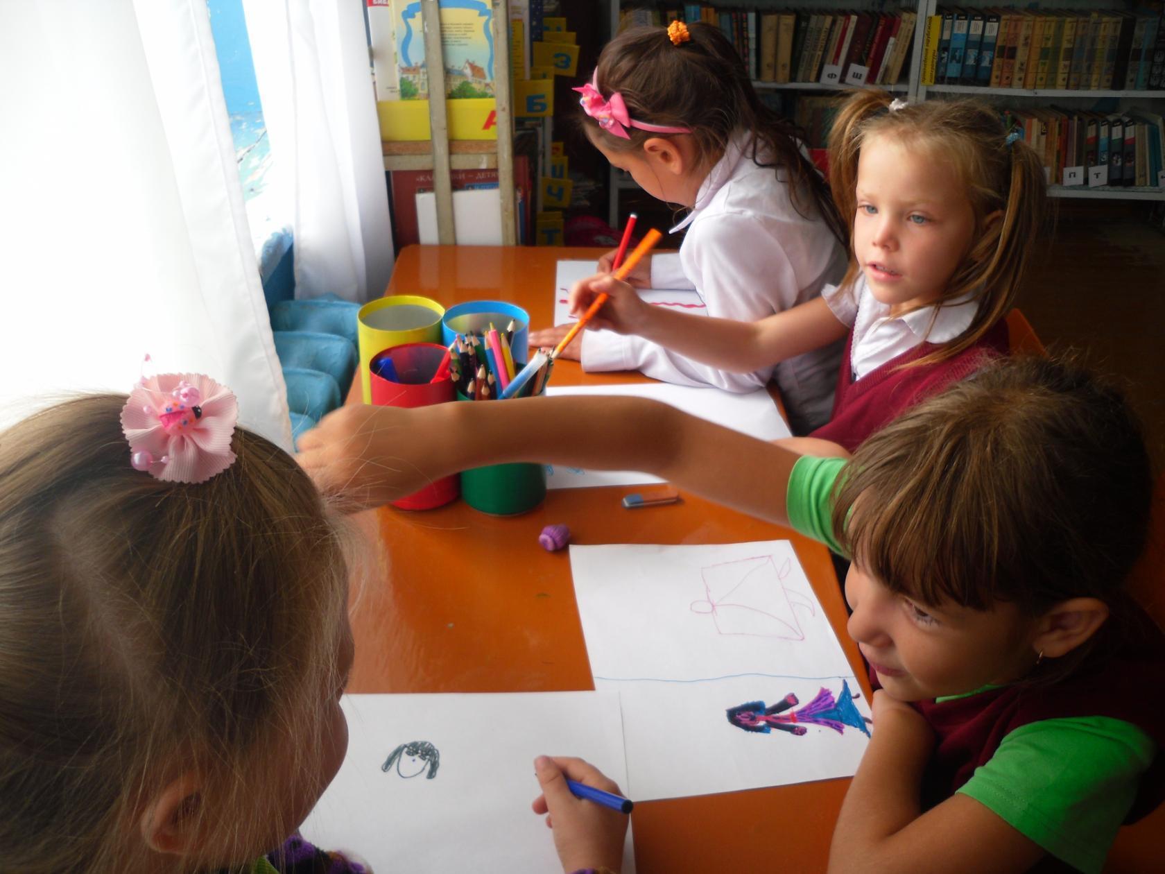 Конкурс рисунков по почте