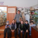 Урок мужества  «Снятие блокады Ленинграда»в Старо-Фейзулловской библиотеке.